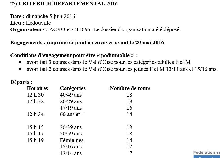 Départemental Hédouville le 5 juin Dep95%202016